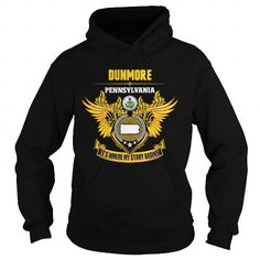 I Love  DUNMORE-PENNSYLVANIA STORY14 1510 T-Shirts