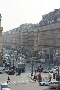Avenue de la Opera,Paris,France