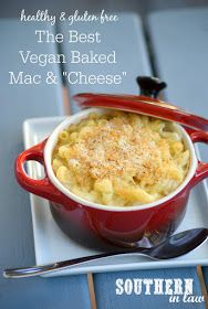 The Best Vegan Baked Mac and Cheese Recipe - healthy, vegan, gluten free, dairy free, egg free, low fat, easy vegan recipes, baked macaroni and cheese