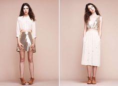 Retro Glam Lookbooks : Lauren Moffatt Fall 2013