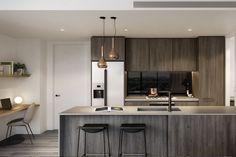 The Terrace Residences enjoy abundant northern light through floor-to-ceiling windows and spacious, open-plan design.