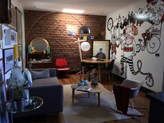 Primer plano de mi pequeño hogar #appartement #eames #table #lamp