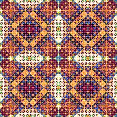 Moroccan Kalido Mashup 06 batch 2 fabric by lilsuss on Spoonflower - custom fabric