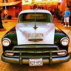 #kemah #texas #boardwalk #oldtimer #police #car