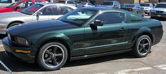2008 Ford Mustang Bullitt. Because everyone wants to be Steve McQueen.