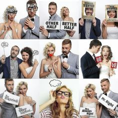 Diverse Sets Originele Fotoprops, Al Van Props - maallure Photo Wall, Wedding Fun, Humor, Mr Mrs, Movies, Movie Posters, Gadgets, Photograph, Films