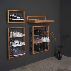 the small b shoe rack basti, closet corridor shelf - Hallway Ideas Home Design, Interior Design, Small B, Types Of Sofas, Custom Sofa, Design Strategy, Shoe Storage, Shoe Closet, Shoe Rack