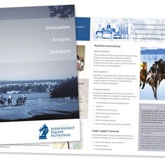 Independent Equine Nutrition brochure. NickBurman.uk