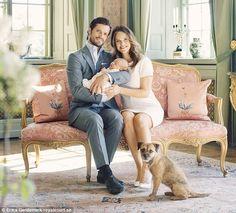 A família real da Suécia divulga retratos oficiais de seu novo herdeiro: príncipe Alexander