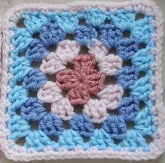 Ami-Ami*編み物*楽しもぅyo♪:スクエアーのモチーフ編み♪