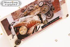 Card created by using a new collection Industrial/ Pohľadnica vytvorená z novej kolekcie Industrial