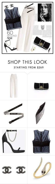 """""""60 Second Style: Summer Date Night♥♥♥"""" by marthalux ❤ liked on Polyvore featuring Derek Lam, Gucci, McQ by Alexander McQueen, Givenchy, Yves Saint Laurent, T By Alexander Wang, Chanel, women's clothing, women's fashion and women"""