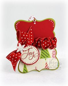 Christmas Joy Tag