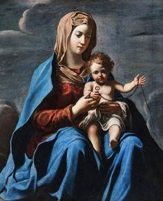 Francesco Cozza - Madonna con bambino, VII sec., Art Gallery of South Australia, Adelaide