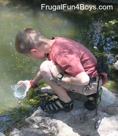 Make a Water Scope for Viewing Pond Life