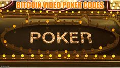 Bitcoin Video Poker Codes Highest Paying Crypto Video Poker Promotions