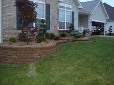 Retaining Wall & Front Yard Landscaping - O'Fallon Missouri