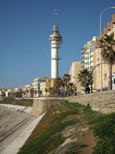 El ''Pirulí''. Cadiz, Cn Tower, Building, Travel, Beaches, Cities, Viajes, Buildings, Destinations