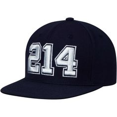 Men s Dallas Cowboys Nike Navy 214 Jersey Numbers Snapback Adjustable Hat 4fac09ab276f