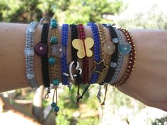 Χειροποίητα Βραχιόλια vol.2 Macrame, Winter, Bracelets, Jewelry, Fashion, Winter Time, Moda, Jewlery, Jewerly