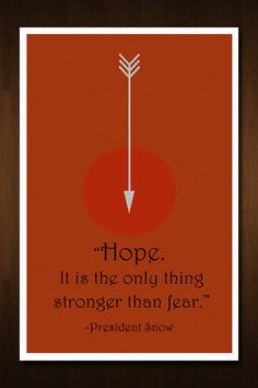 TY for HOPE... Even thought I dont know what my next step is I know I have faith in hope... Hunger Games Hope Quote