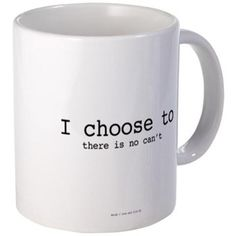Warrior: There Is No Can't Mugs