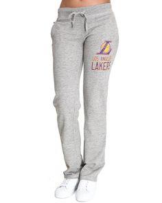 f6c65f3f6ef DrJays.com - Detailed Images of Lakers Drawstring Sweatpants by NBA MLB NFL  Gear Nfl