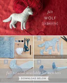 Felt Animal Patterns, Plushie Patterns, Stuffed Animal Patterns, Felt Patterns Free, Cute Crafts, Crafts To Do, Felt Crafts, Fabric Crafts, Sewing Toys