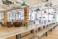 Hello Fresh approached ThirdWay to create their new London HQ so as to ensure we were not just creating an office but their new home.
