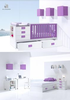 Cunas para beb s bebe pinterest babies and room for Cama minimalista
