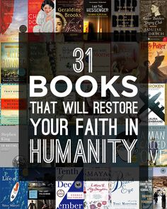31 Books That Will Restore Your Faith In Humanity