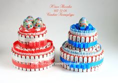 Gallery.ru / Торт из киндер-шоколада - Торты и тортики из шоколада. - MamaYulia