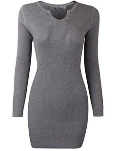 Tom's Ware Womens Casual fitted Package Hip Sweater Mini Dress TWLS052-D061-GRAY-S(US XS/S) Tom's Ware http://www.amazon.com/dp/B00OYQFPTC/ref=cm_sw_r_pi_dp_PM3Oub0JCRXJT
