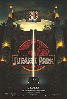 Jurassic Park 3D - Authentic Original 27 x 40 Movie Poster @ niftywarehouse.com