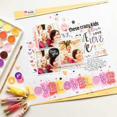 Hello, friends! Today is the day! The February Elle's Studio kit  is available now and I finally get to share in full two projects that I ma...