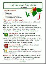Letterspel Kerst - Spelregels Spelling, Teacher, Letters, Learning, Crafts, Scouting, Advent, Decorations, Logo