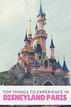 Disneyland Paris is a good cross between Walt Disney World in Florida and Disneyland in California. Here are the top things to experience while you are there. via @disneyinsider
