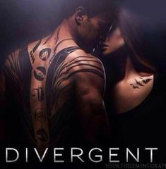 They're kissing in this one! ~Divergent~ ~Insurgent~ ~Allegiant~