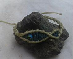 fish macrame/ handmade bracelet/ K.ompo.S - Handmade Jewel