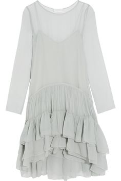 CHLOÉ Tiered ruffled