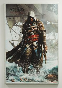 Top video game posters to decorate with!