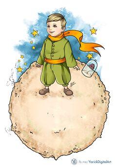 YARICK IVENS | Digital Art: Le Petit Prince