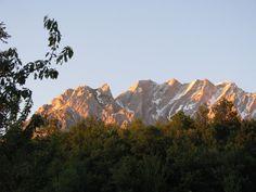Gran Sasso, Abruzzo at sunrise