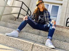Be the DESIGNER of your own DREAMS...let that be your AMMUNITION because you are beautiful, strong, & fierce. Loving our babe @kobe.alexandra in our camo SnapBack, classic t-shirt, & vintage flannel now available on https://armedandglamorous.clothing/ 💋✌🏻🔥😘 Always stay @armedandglamorous XoXo the Twinzies*  #fierce #beautiful #model #fighter #nebraska #cali #clothingbrand #work #pray #slay #armedandglamorous #armed #glamorous #snapback #newera #newerasnapback #camo #kancan #vans #friday…