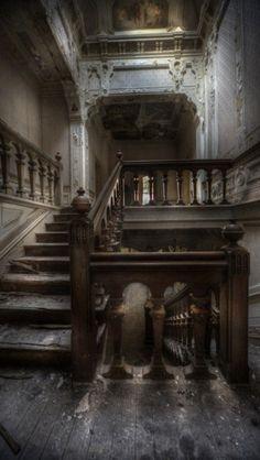 Abandoned, Mansion, Interior, Creepy, Haunted