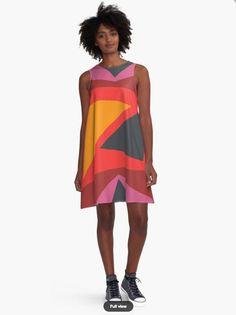 Geometric Dress - Dresses for Woman - Geometric Pattern Dress