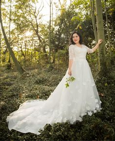 Pluz Size Real Photos Accept Plus Size Customized Making Luxury A Line Lace Embroidery Applique Wedding Dress Xmn009 Lace Wedding Gown Mermaid Wedding Gowns From Andrew_gz, $210.06  Dhgate.Com