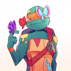 Ninja Turtles Art, Teenage Mutant Ninja Turtles, Baby Turtles, Cute Drawlings, Cute Art, Gta, Tmnt Mikey, Leonardo Tmnt, Gold Wallpaper Background