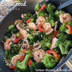 Sautéed Shrimp & Broccoli – Better than Takeout | Clean Food Crush | Bloglovin'