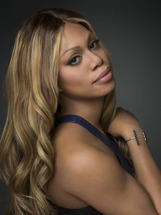 Laverne Cox (born Roderick Leverne Cox), American actress & producer. She is best known for her role as Sophia Burset on the Netflix series Orange Is the New Black. (A twin, she had her brother portray her character during pre-transitioning scenes.) She made history as the 1st transgender person to be nominated for an Emmy in an acting category, and as the 1st transgender person to appear on the cover of Time magazine. A transgender advocate, she has been honored with GLAAD's Stephen F…